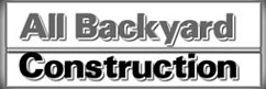 All Backyard Construction Logo