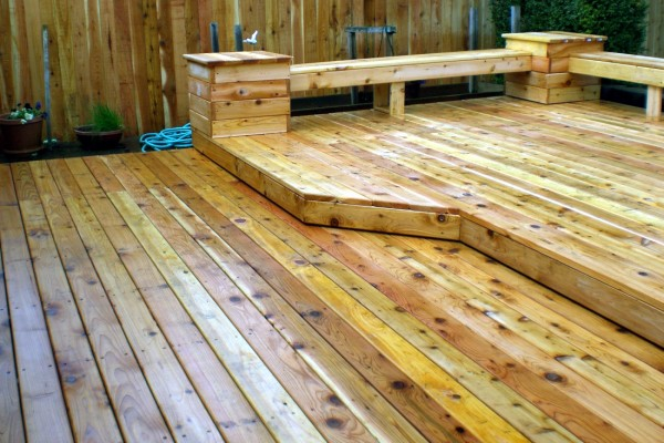 Tiered Deck Custom